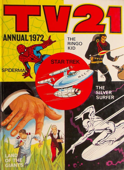 Cover for TV21 Annual (IPC, 1971 series) #1972