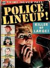 Cover for Police Line-Up (Avon, 1951 series) #3