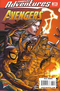 Cover Thumbnail for Marvel Adventures The Avengers (Marvel, 2006 series) #34