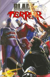 Cover Thumbnail for Black Terror (Dynamite Entertainment, 2008 series) #3 [Alex Ross Cover]