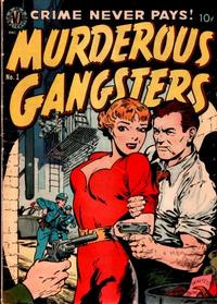 Cover Thumbnail for Murderous Gangsters (Avon, 1951 series) #1
