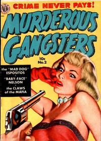 Cover Thumbnail for Murderous Gangsters (Avon, 1951 series) #2