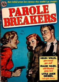 Cover Thumbnail for Parole Breakers (Avon, 1951 series) #2 (1)
