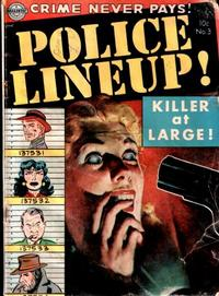 Cover Thumbnail for Police Line-Up (Avon, 1951 series) #3