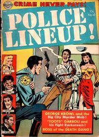 Cover Thumbnail for Police Line-Up (Avon, 1951 series) #4