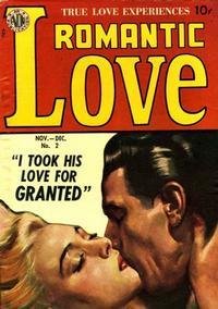 Cover Thumbnail for Romantic Love (Avon, 1949 series) #2