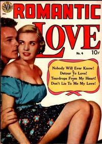 Cover Thumbnail for Romantic Love (Avon, 1949 series) #4