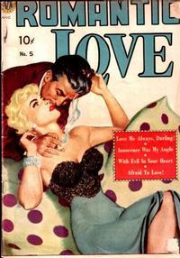 Cover Thumbnail for Romantic Love (Avon, 1949 series) #5