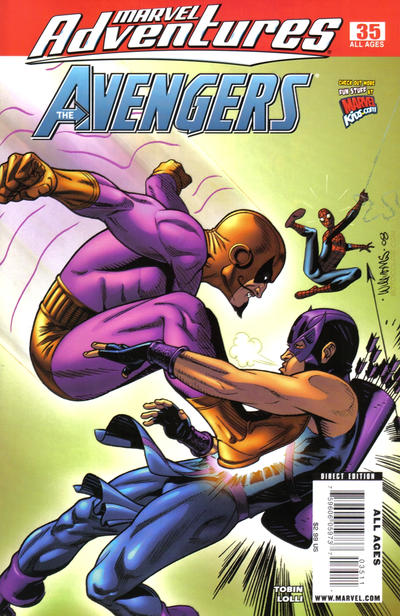 Cover for Marvel Adventures The Avengers (Marvel, 2006 series) #35