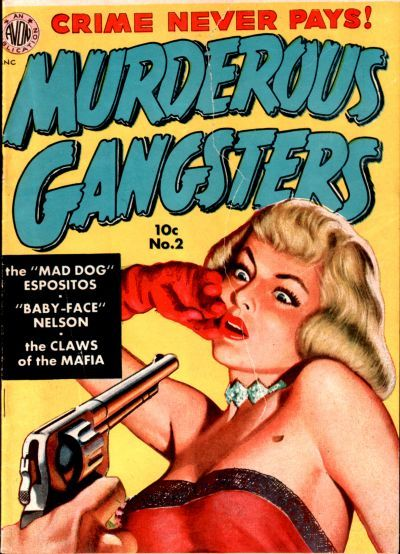 Cover for Murderous Gangsters (Avon, 1951 series) #2