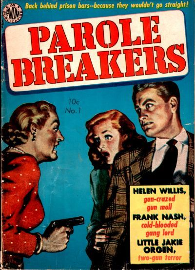 Cover for Parole Breakers (Avon, 1951 series) #2 (1)