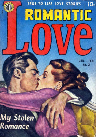 Cover for Romantic Love (Avon, 1949 series) #3