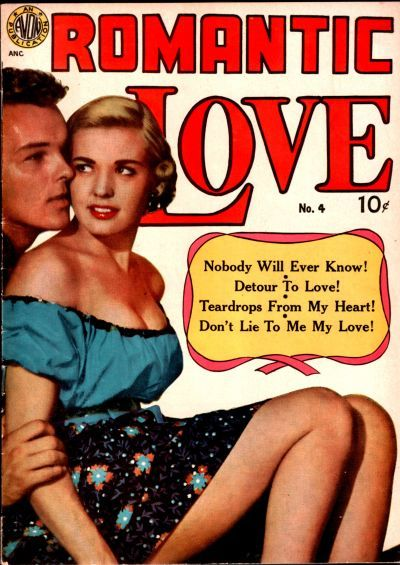 Cover for Romantic Love (Avon, 1949 series) #4