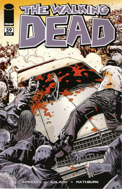 Cover for The Walking Dead (Image, 2003 series) #59