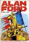 Cover for Alan Ford (Editoriale Corno, 1969 series) #39