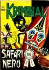 Cover for Kriminal (Editoriale Corno, 1964 series) #166