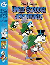 Cover Thumbnail for Walt Disney's Uncle Scrooge Adventures in Color (Gladstone, 1996 series) #2