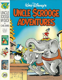Cover Thumbnail for Walt Disney's Uncle Scrooge Adventures in Color (Gladstone, 1996 series) #20