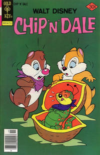 Cover for Walt Disney Chip 'n' Dale (Western, 1967 series) #49 [Gold Key]
