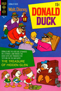 Cover for Donald Duck (Western, 1962 series) #137