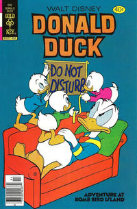 Cover Thumbnail for Donald Duck (Western, 1962 series) #206 [Gold Key]