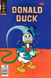 Cover Thumbnail for Donald Duck (Western, 1962 series) #207 [Gold Key Variant]