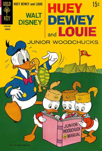 Cover Thumbnail for Walt Disney Huey, Dewey and Louie Junior Woodchucks (Western, 1966 series) #4