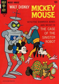 Cover Thumbnail for Mickey Mouse (Western, 1962 series) #113