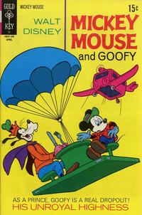 Cover Thumbnail for Mickey Mouse (Western, 1962 series) #129