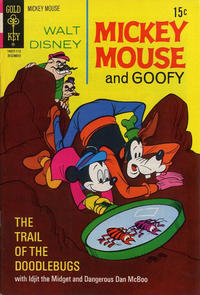 Cover Thumbnail for Mickey Mouse (Western, 1962 series) #133 [Gold Key]