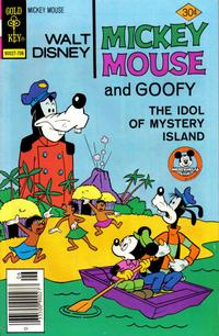 Cover Thumbnail for Mickey Mouse (Western, 1962 series) #172 [Gold Key]