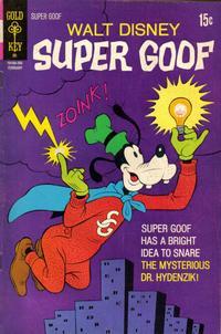Cover Thumbnail for Walt Disney Super Goof (Western, 1965 series) #20 [Gold Key]