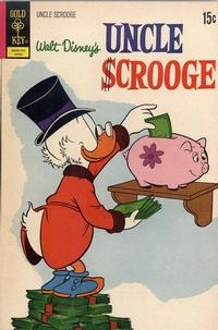 Cover Thumbnail for Uncle Scrooge (Western, 1963 series) #98 [Gold Key Variant]
