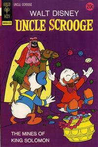 Cover Thumbnail for Uncle Scrooge (Western, 1963 series) #108 [Gold Key]