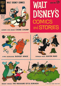 Cover Thumbnail for Walt Disney's Comics and Stories (Western, 1962 series) #v23#1 (265)