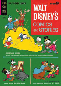 Cover Thumbnail for Walt Disney's Comics and Stories (Western, 1962 series) #v23#4 (268)