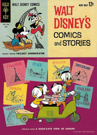 Cover Thumbnail for Walt Disney's Comics and Stories (Western, 1962 series) #v23#9 (273)