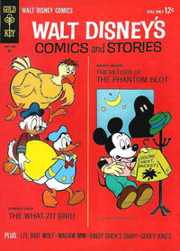 Cover Thumbnail for Walt Disney's Comics and Stories (Western, 1962 series) #v24#8 (284)