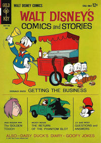 Cover Thumbnail for Walt Disney's Comics and Stories (Western, 1962 series) #v24#9 (285)