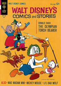 Cover Thumbnail for Walt Disney's Comics and Stories (Western, 1962 series) #v24#10 (286)