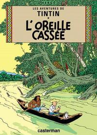 Cover Thumbnail for Les Aventures de Tintin (Casterman, 1934 series) #6 [1937 edition] - L'Oreille cassée