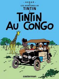 Cover Thumbnail for Les Aventures de Tintin (Casterman, 1934 series) #2 [1946 edition] - Tintin au Congo