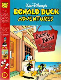 Cover Thumbnail for Carl Barks Library of Walt Disney's Donald Duck Adventures in Color (Gladstone, 1994 series) #1