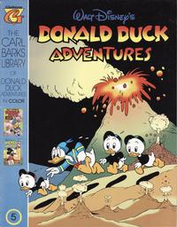 Cover Thumbnail for Carl Barks Library of Walt Disney's Donald Duck Adventures in Color (Gladstone, 1994 series) #5
