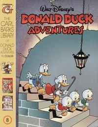 Cover Thumbnail for Carl Barks Library of Walt Disney's Donald Duck Adventures in Color (Gladstone, 1994 series) #8