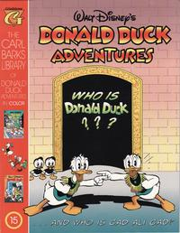 Cover Thumbnail for Carl Barks Library of Walt Disney's Donald Duck Adventures in Color (Gladstone, 1994 series) #15
