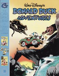 Cover Thumbnail for Carl Barks Library of Walt Disney's Donald Duck Adventures in Color (Gladstone, 1994 series) #18