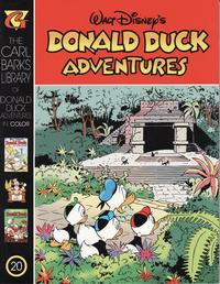 Cover Thumbnail for Carl Barks Library of Walt Disney's Donald Duck Adventures in Color (Gladstone, 1994 series) #20