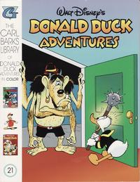 Cover Thumbnail for Carl Barks Library of Walt Disney's Donald Duck Adventures in Color (Gladstone, 1994 series) #21