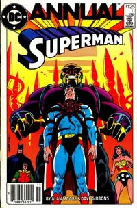Cover Thumbnail for Superman Annual (DC, 1960 series) #11 [Newsstand]